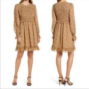 Rachel Parcell Smocked Ruffle Dress